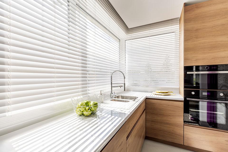 horizontale lamellen hout keuken