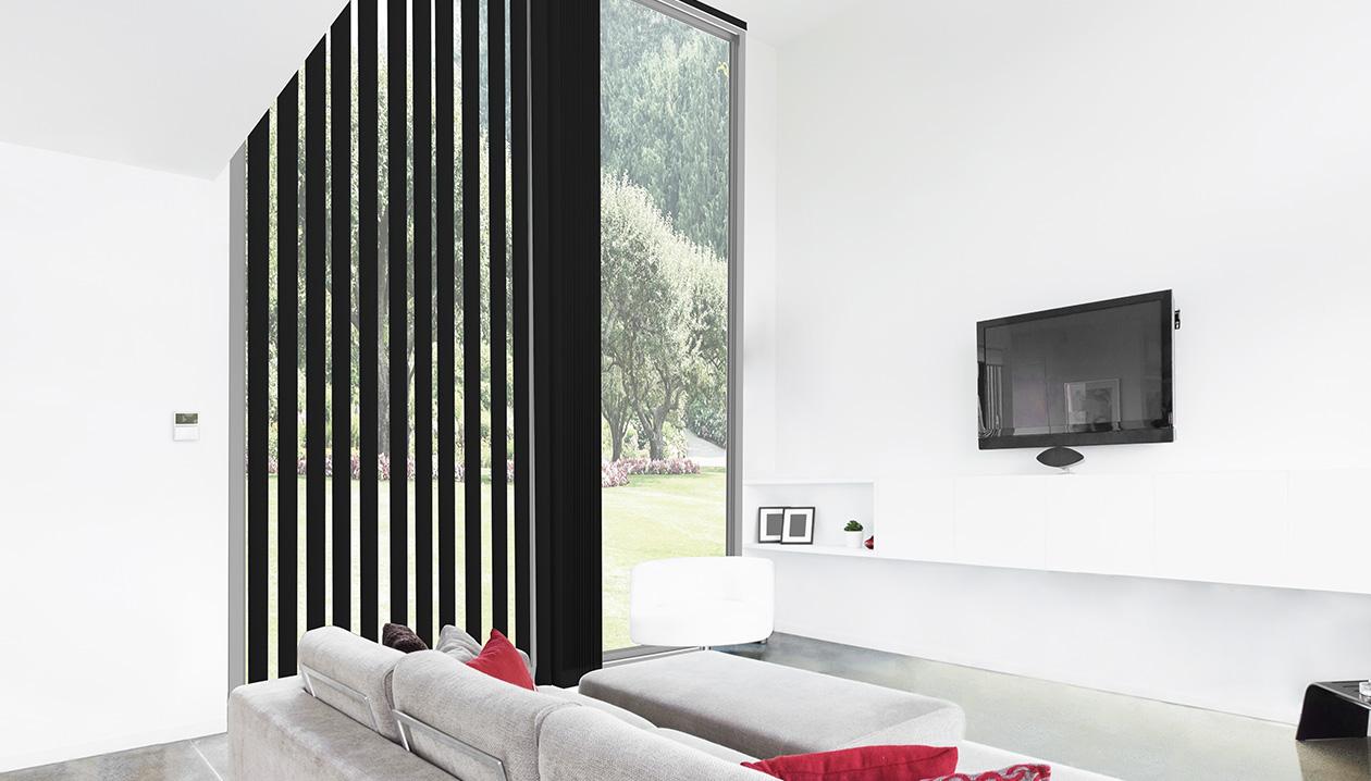 Elektrische bediening met muurzender.
