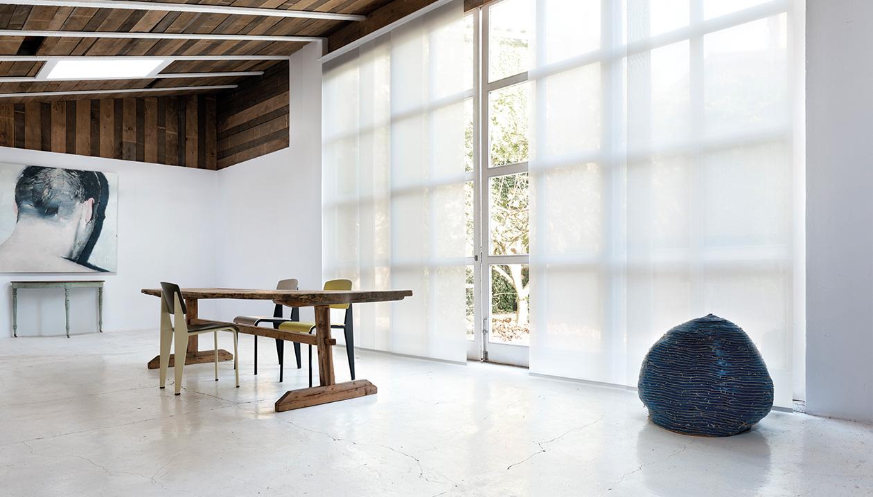 Paneelgordijnen, een uitstekende keuze voor grote ramen.