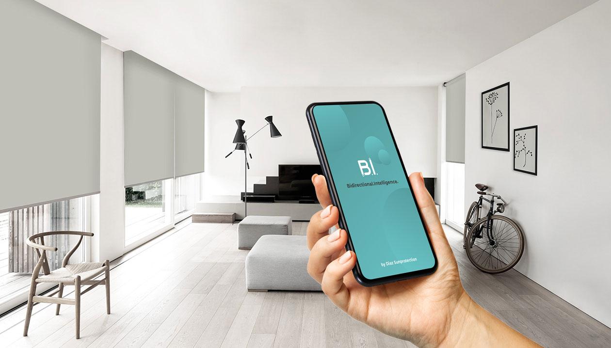 Elektrische bediening met Diaz B.I. app